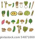 蔬菜2什錦變化蔬菜材料 54871660