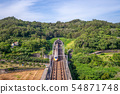 taiwan high speed rail (THSR) at miaoli 54871748
