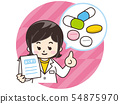 有處方藥的藥劑師婦女 54875970