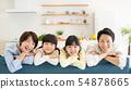 Parent and child portrait family image 54878665