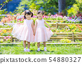 雙胞胎姐妹肖像 54880327