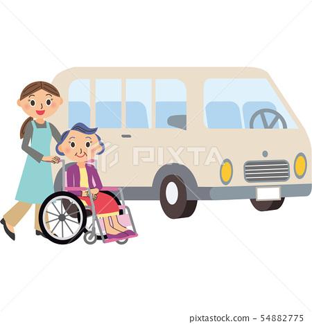 護理巴士運輸奶奶 54882775