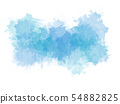 colorful shape on watercolor illustration painting 54882825