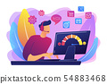 Customer care concept vector illustration 54883468