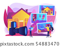 Real estate photography concept vector illustration 54883470