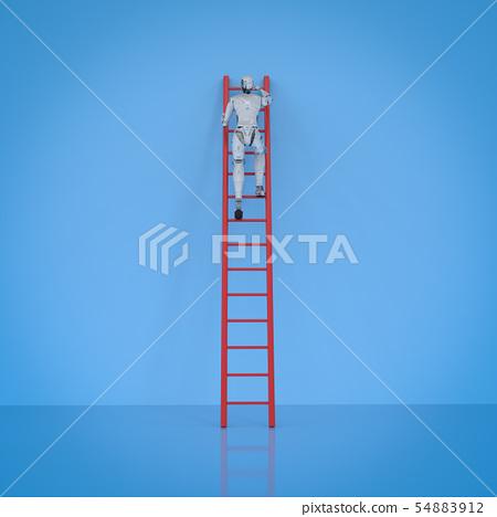 robot climb ladder 54883912