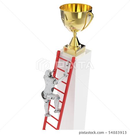 robot reach trophy 54883913