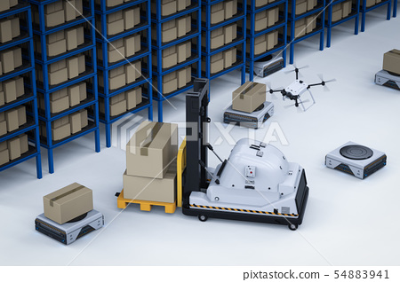 Automatic warehouse concept 54883941