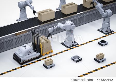 Automatic warehouse concept 54883942