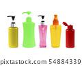 Plastic Bottle pump Of Gel, Liquid Soap, Lotion 54884339