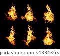 불타다, 불꽃, 불 54884365