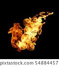 불타다, 불꽃, 불 54884457