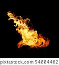 불타다, 불꽃, 불 54884462