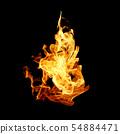 불타다, 불꽃, 불 54884471