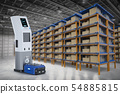 warehouse robot charge at station 54885815
