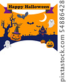 halloween jack-o-lantern autumn 54886428
