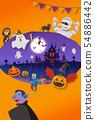 halloween, ghosts, monster 54886442