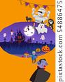 halloween, ghost, monster 54886475