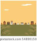 秋天的景色 54890150