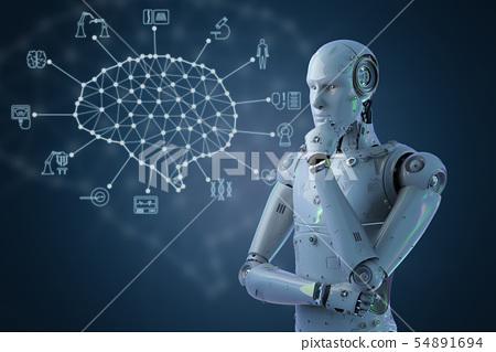 Medical technology concept 54891694