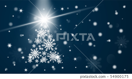 Merry Christmas and Happy new year greeting card 54900175