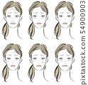 女性患有皮肤病 54900903
