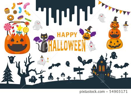 halloween, icon, icons 54903171