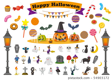 ghost, halloween, icon 54903172
