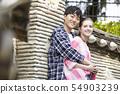 情侶,約會,約會,旅行,旅遊,韓屋,韓國傳統,北村韓屋村,北村,鐘路區,首爾 54903239