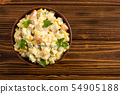 Traditional Mayonnaise Russian salad olivier 54905188