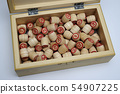 lotto set in wooden box 54907225