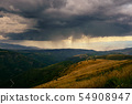 Summer Storm and Rain On Mountains In Spain 54908947