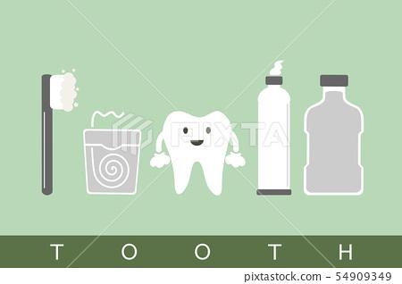 tooth best friend 54909349