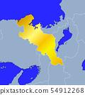 Kyoto Prefecture Map 54912268