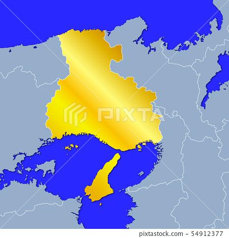 Hyogo Prefecture Map 54912377