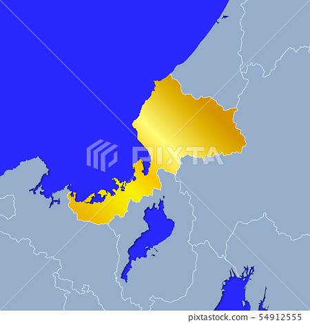 福井縣地圖 54912555