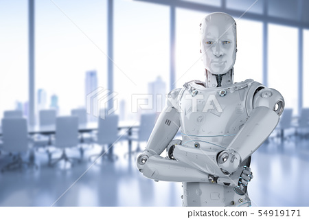 robot arm crossed 54919171