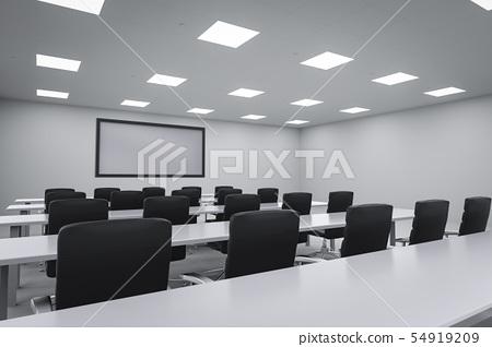 empty seminar room 54919209