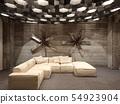 3d rendering of new urban loft interior design 54923904