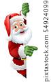Santa Claus Christmas Cartoon Character 54924099