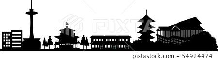 교토 실루엣 2 (투명 사양) 54924474