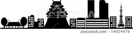 Nagoya silhouette 1 (transmission specification) 54924479