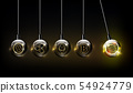 Libra and digital currency logo financial concept 54924779