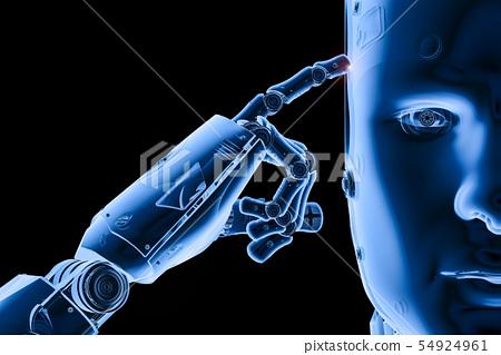 x-ray robot thinking 54924961