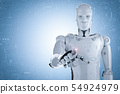 robot hand pointing 54924979