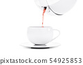 Pouring tea 54925853