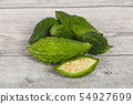 Tropical exotic vegetable - bitter melon 54927699