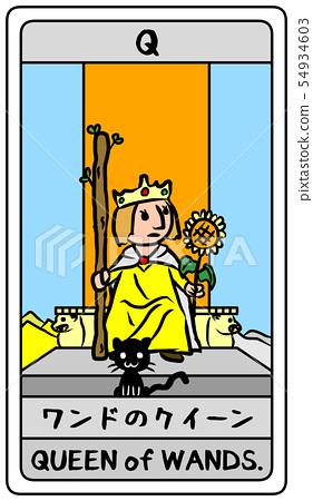 塔羅牌鞭子女王相當變形的日本英語 54934603