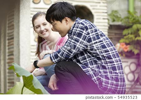 커플,연애,데이트,여행,관광,한옥,한국전통,북촌한옥마을,북촌,종로구,서울  54935523