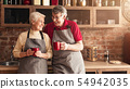 senior, couple, elderly 54942035